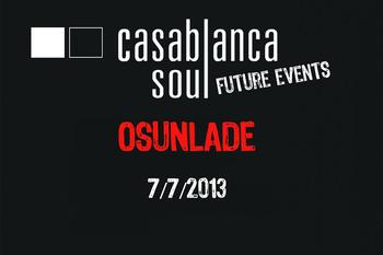 event: DJ guesting Osunlade at Casablanca soul Bar !