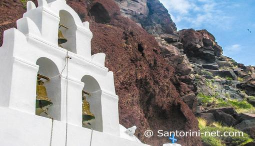 St. Nicholas - Red beach Santorini
