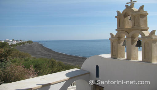 St. Nikolas church, kamari beach Santorini