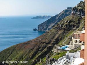 Fira, caldera cliffs