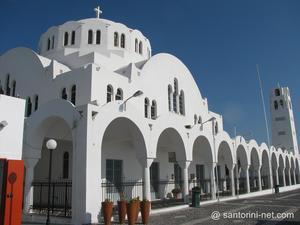 The main church of the island, Metropolis