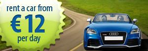 Νοικιάστε αυτοκίνητο στη Σαντορίνη. Οι τιμές αρχίζουν από 12 ευρώ την ημέρα!